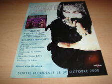 CRADLE OF FILTH - MIDIAN !!!!!!!!!! PUBLICITE / ADVERT