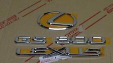 01-05 *Neu* Oem Lexus GS300 Chrom Kofferraum Emblem Set 2001 2002 2003 2004 2005