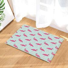 Door Mat Bathroom Rug Bedroom Carpet Bath Mats Tropical Pink flamingo 40*60cm