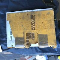 CATERPILLAR CAT 3406 DIESEL TRUCK ENGINE SERVICE MANUAL S/N 92U1-UP