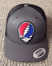 03270ca23f88b Grateful Dead Hat Steal Your Face SnapBack Trucker Mesh Cap Made in the USA!