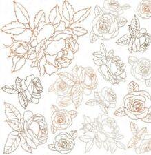 Kaisercraft Peachy 12x12 Gloss Varnish - Roses PS542 Ink Resist Nini's Things
