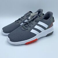 Adidas CF RACER TR 2.0 - Running Shoes Gray/White Little Kids Sneakers Size 1.5