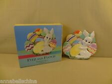 """Fitz & Floyd Gift Gallery """"Gathering Eggs"""" 9"""" Canape Plate"""