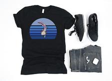 Premium Blue Retro Axolotl Mexican Salamander Owner T Shirt Gift Amphibian Lover