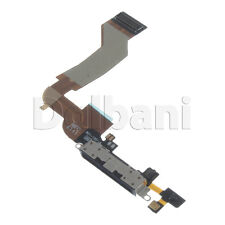 IP4S-CP-B New Replacement Charging Port Black for Apple iPhone 4S