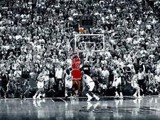 Michael Jordan - Last Shot - NBA - Chicago Bulls - Basketball Poster