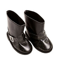 Gotz Hannah play doll Black Highstreet Ankle Boots 3402618 NEW