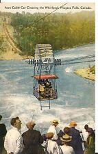 Postcard: Niagara Falls Canada, Aero Cable Car Crossing the Whirlpool Postmarked