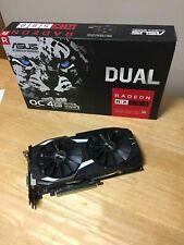 ASUS DUAL AMD Radeon RX 580 (rev. 1.0/1.1) - 4GB GDDR5 PCI Express 3.0...