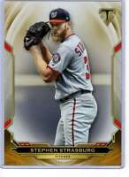 Stephen Strasburg 2019 Topps Triple Threads 5x7 Gold #28 /10 Nationals