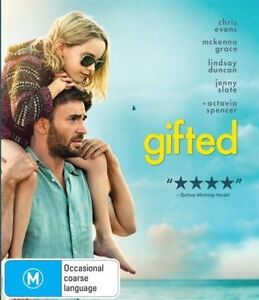Gifted (DVD, 2017) Brand New, Factory Sealed quality