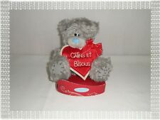 """Peluche Ours Me To You  """" Câlins et Bisous """" Carte Blanche"""
