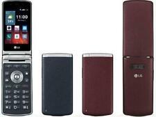 "4G LTE LG Wine Smart 2 H410 4G ROM 1GB RAM 3.2"" Android Quad-core CPU Flip Phone"