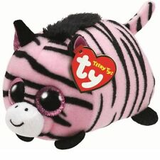 "TY Teeny Tys Pennie Zebra Beanie Babies 3"" Stuffed Plush Toy Stackable Tsum Tsum"