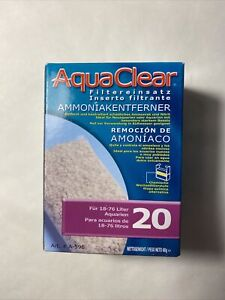 RA Ammonia Remover Filter Insert for AquaClear 20/Mini - 1 pk: Free Shipping