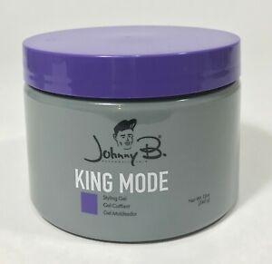 Johnny B King Mode Hair Gel 12 oz. NEW