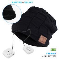 Bluetooth Music Warm Beanie Hat Wireless Smart Cap Headphone Headset Speaker Mic