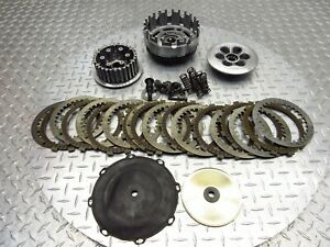 2008 08-11 Can-Am RS 990 Spyder Roadster OEM Clutch Basket Primary Plates Lot