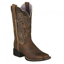 10006304 Ariat Women's Quickdraw Boot - Badlands Brown & Wicker NEW