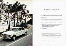 PUBLICITE ADVERTISING  016  1981  Mercedes-Bens la 240D  ( 2p)