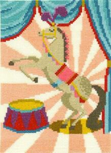 DMC Counted Cross Stitch Kit - Dancing Horse - by Emily Peacock