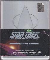 Star Trek The next Generation Stagione 2 DVD 6 DVD Cofanetto Sigillato (due)