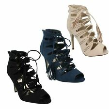 """Anne Michelle Textile Very High (greater than 4.5\) Women's Heels"""""""