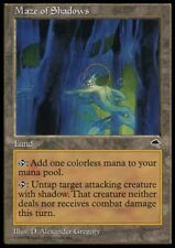 MTG 4x MAZE OF SHADOWS - Tempest *Land Hate Shadow*