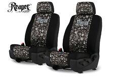 Neoprene Skull Camo Seat Covers For 2008 2013 Chevy Silverado Bucket Seats Fits Jeep Cherokee