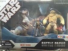 HOTH PATROL Star Wars 30th Battle Packs Figures 3-pack Toys 'R' Us 2007