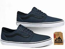 Vans Trig MTE Ombre Blue/White Men's Classic Skate Shoes 8