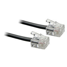 20M ADSL RJ11 Internet Modem Broadband DSL Cable Lead Black - SENT TODAY