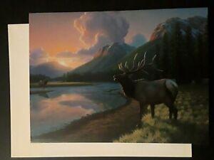 Blank Card Elk