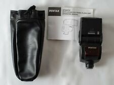 Pentax AF360FGZ Shoe Mount Flash for  Pentax with manual and pouch bag