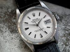 Stunning 1956 Rolex Oyster 'Big Bubble' DateJust Gents Vintage Watch