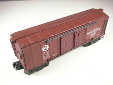 Lionel X2458 Pennsylvania RR Automobile Boxcar, Lightly Used, EXC-, Layout ready