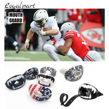 US Guard Mouth Shock Doctor Lip Guards & Straps Max Airflow Mouthpiece Football