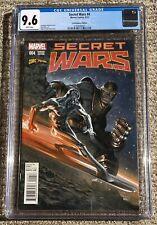 Secret Wars #4 – Dell'Otto Cover – Marvel 09/2015 – CGC 9.6 NM+