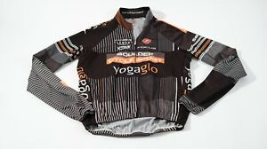 Castelli long sleeve cycling jersey shirt Boulder Cycle sports mens large