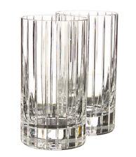 Rogaska Crystal Luxe Madison Avenue Highball set of 2 Crystal Glass NIB