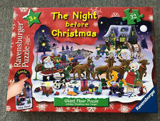 RAVENSBURGER The Night Before Christmas 32 Piece Giant Floor Puzzle 3 +