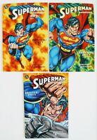 Superman/Doomsday: Hunter/Prey #1, #2 & #3    Lot of 3 (1994, DC Comics)