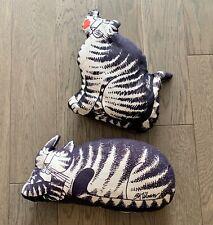 New listing Pair: B Kliban Cat Pillows Kitten Prints 1970s
