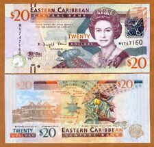 Eastern East Caribbean, $20, ND (2012) , P-53, UNC > Cricket Marks