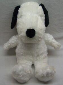 "Cedar Fair Peanuts VERY SOFT SNOOPY DOG 15"" Plush STUFFED ANIMAL Toy"