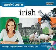 Speak & Learn Irish Win Xp Vista 7 8 Mac Learn spoken and written Irish New