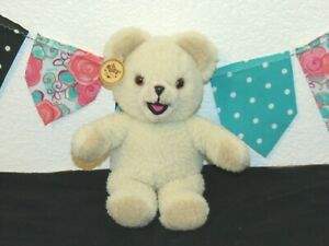 """1986 Russ Snuggle Bear Fabric Softener 11"""" Lever Brothers Plush Toy 3145 Vintage"""
