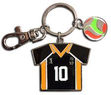 **License** Haikyuu Keychain SD Shoyo Hinata's No.10 Volleyball Uniform #38599