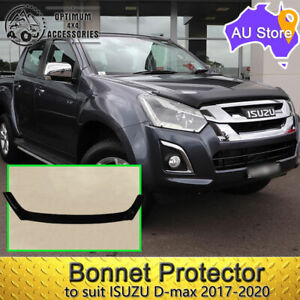 Bonnet Protector Black Guard For Isuzu D-max Dmax Dual Cab 2017-2020